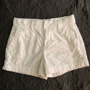 GAP Crochet shorts.